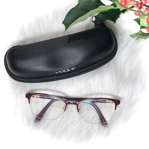 Vogue V4067 Violet Cat Eye Bifocal Rx Glasses